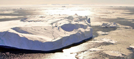 Iceberg And Sea Ice